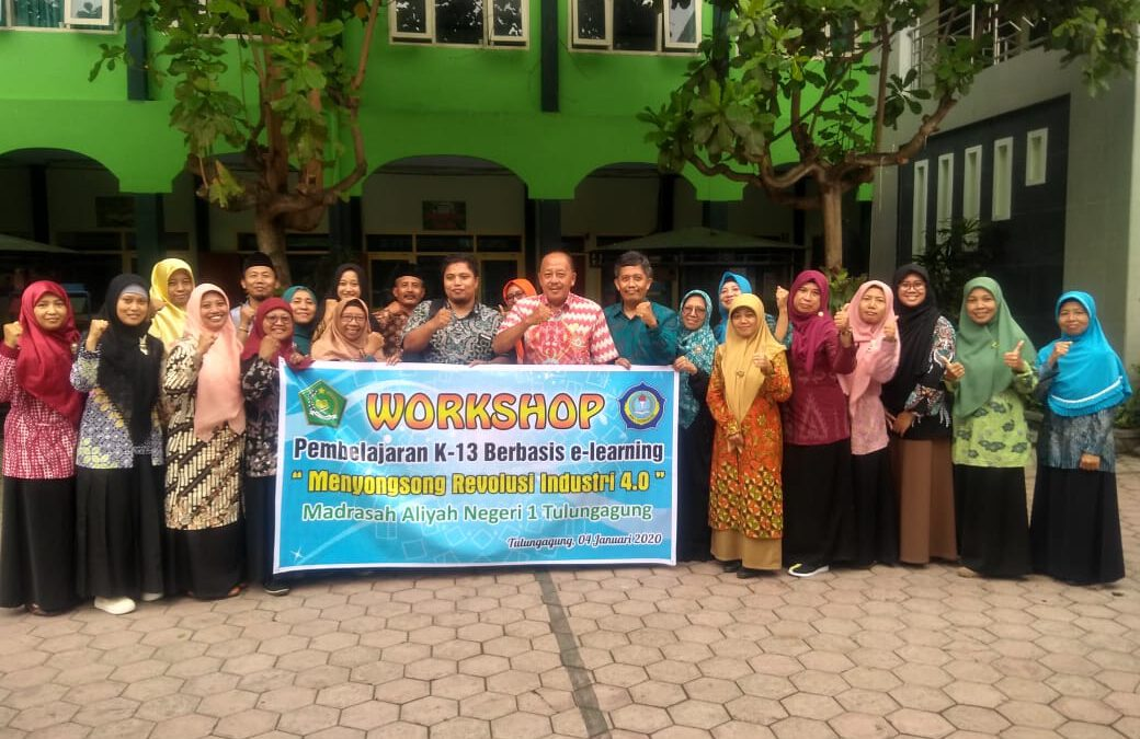 WORKSHOP PENDIDIK MAN 1 TULUNGAGUNG